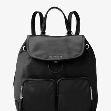Cara Large Nylon Backpack | Michael Kors