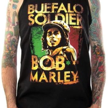 Bob Marley Tank Top - Buffalo Soldier