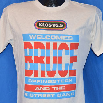 1985 Bruce Springsteen and the E Street Band KLOS 95.5 Tour t-shirt Small