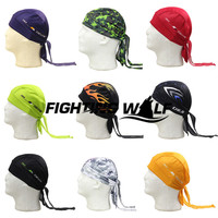 Outdoor Cycling Hat Men Pirate Bandana Bicycle Sweatproof Headband Quality Sunscreen Breathable Riding Sport Headwear Free Size