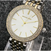 MK Micheal Kors Creative personality trend needle table male watch, alloy strap lovers watch 3