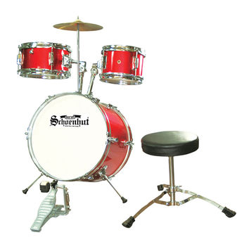Schoenhut Piano Company Inc 5 Piece Drum Set Red