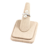 70's__Sarah Coventry__Pearl Figure Eight Ring