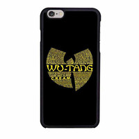 wutang clan iphone 6 6s 4 4s 5 5s 6 plus cases