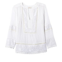 Rebecca Taylor Oahu Embroidered Top