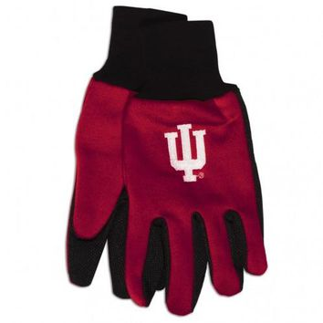 Indiana Hoosiers - Adult Two-Tone Sport Utility Gloves