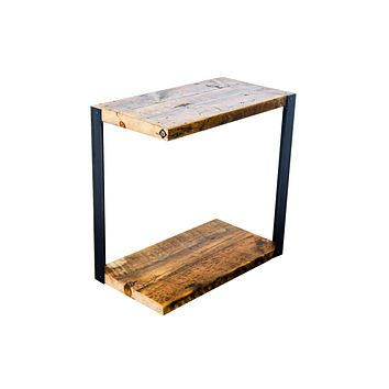 Asymmetrical Side Table