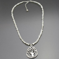 Freshwater Pearl Tree Necklace