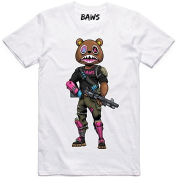 SWAT BAWS White Shirt