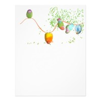 Playful birds Letterhead