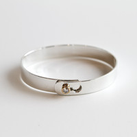 Diamond Lock Bangle