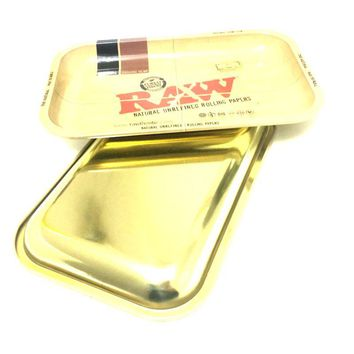 Gold Back Rolling Trays