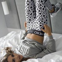 Women's Fashion Fashion Print Sports Pants [10269374663]