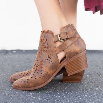 Western Chic Ankle Booties