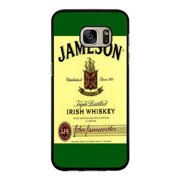 Jameson Wine Irish Whiskey Samsung Galaxy S7 Edge Case