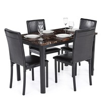 Sydney Dining Room Table and Chair Set for 4