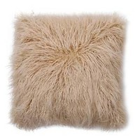 "Faux Fur Pillow (18"") - Pink - Threshold™"