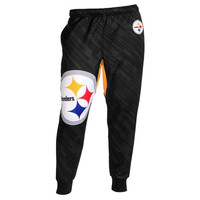 Forever Collectibles Polyester Men's Jogger Pants NFL Pittsburgh Steelers Case