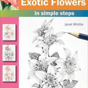 How to Draw Exotic Flowers in Simple Steps (How to Draw)