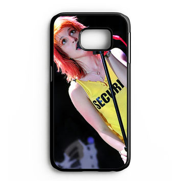 Hayley Williams Paramore Singer Samsung Galaxy S6 Edge Case