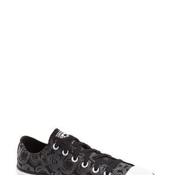 Women's Converse Chuck Taylor All Star 'Ox - Rose Print' Low Top Sneaker,