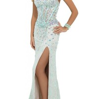 Dressytailor Sheath Sweetheart Lace Long Prom Dress with Stones