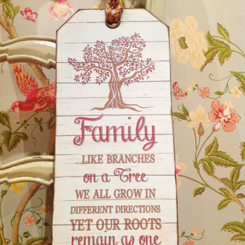 Family Tree Print, Family Tree Sign, leaving gift, parents gift, mother of the bride, father of the bride, mothers day, fathers day