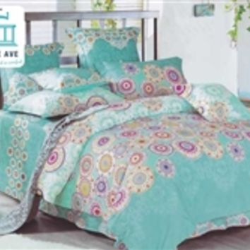 Caribbean Cirque Twin XL Comforter Set - College Ave Designer Series Bedding Twin Extra Long Sets Supplies