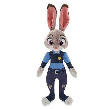 Latest Listing Zootopia Lovely rabbit Judy Plush toy doll 30cm high quality animal Soft Cartoon toy for Baby toys to appease