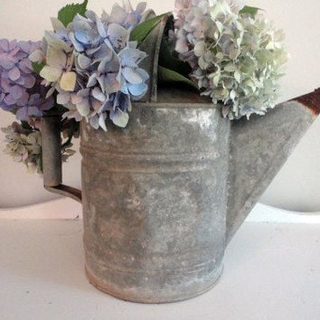 Vintage Water Can by hilltopcottage on Etsy