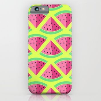 watermelon; iPhone & iPod Case by Pink Berry Patterns