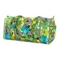 Vera Bradley Small Duffel in Lime's up