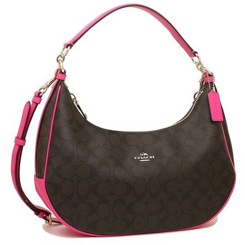 Coach Harley East West Hobo Handbag Shoulder Bag Crossbody