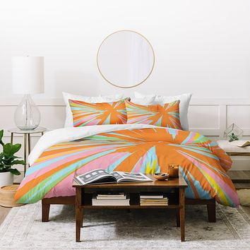 Rosie Brown Pin Wheel Duvet Cover