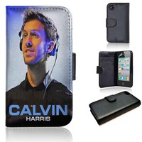 Calvin Harris | wallet case | iPhone 4/4s 5 5s 5c 6 6+ case | samsung galaxy s3 s4 s5 s6 case |