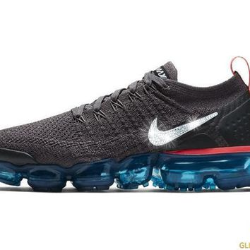 Nike Air VaporMax Flyknit 2 + Crystals - Thunder Grey