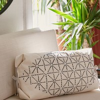 Lurex Embroidered Convertible Envelope Pillow | Urban Outfitters