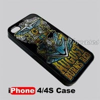 August Burns Red Metalcore Band Logo iPhone 4/4S case Cover