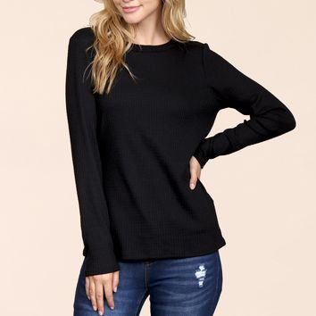 Waffle Solid Top