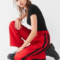 Light Before Dark Satin Stripe Jogger Pant | Urban Outfitters