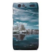Turquoise Serenity Droid RAZR Cases from Zazzle.com
