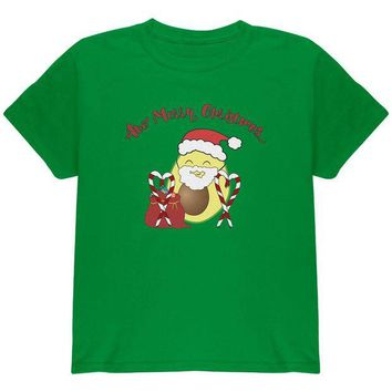 DCCKU3R Avo Have A Merry Christmas Avocado Cute Funny Pun Youth T Shirt