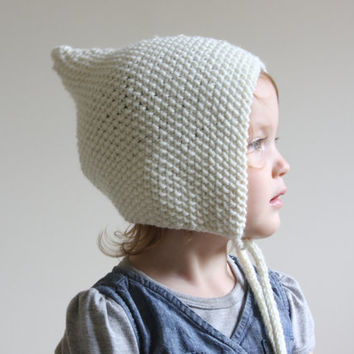 ... cheap knit baby pixie bonnet merino wool pixie hat newborn knit hat knit  baby 99809 3a81b 4cc5749cfbc