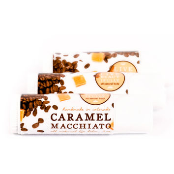 Caramel Macchiato - All Natural Lip Balm