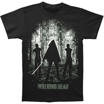 Walking Dead Men's  T-shirt Black Rockabilia