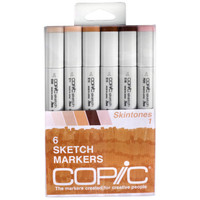 Copic® Sketch Marker Set, Skintones 1