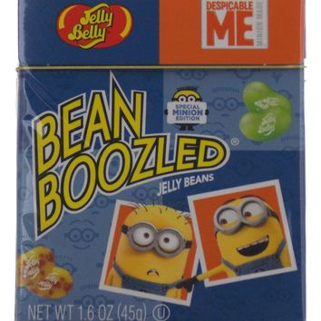 Jelly Belly Minions Despicable ME Bean Boozled Jelly Beans 1.6 oz Box Lot 7