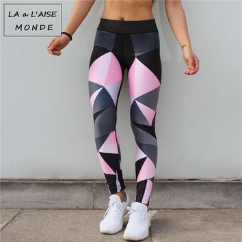 Tights Leggins Sport Women Fitness Sportswear Woman Gym Leggings Fitness Female Sports Wear For Women's Print Active Wear