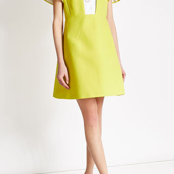 Cotton Dress with Embellishments - Delpozo | WOMEN | US STYLEBOP.COM