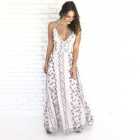 Flower Field Maxi Dress